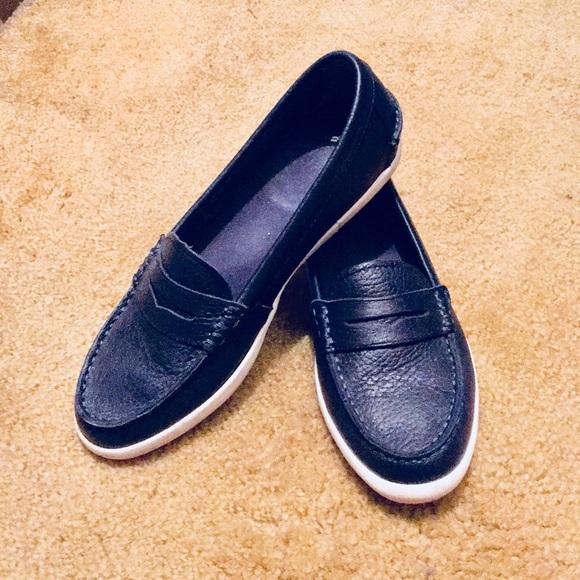 Cole Haan Nantucket Loafers Navy Blue